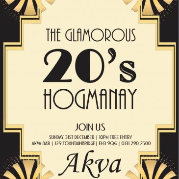 Bring in the New Year with my magic at Akva, Fountainbridge, Edinburgh