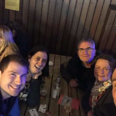 Grape, Aileen, Kirsty & Husband (24 August) 2018