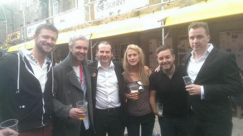 Alex Brooker, Matt Forde & Friends, 2014
