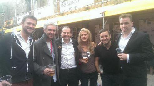Alex Brooker, Matt Forde & Friends, 2014