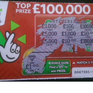 A Lucky Lottery Ticket