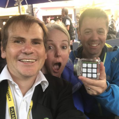 """Magical Genius"" - Chris & Sally from Wimbledon  remembered me from 5 years ago! (10 August) 2018"