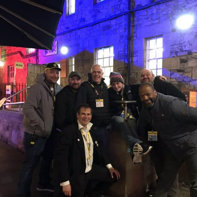 Pleasance Courtyard's Security (27 August) 2018