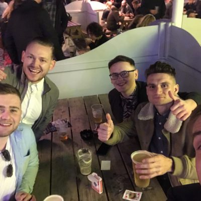 Aaron's Stag Do (25 August) 2018