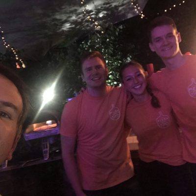 The Dream Team @pizza_geeks - The Best Pizza @edfringe (18 August 2019)