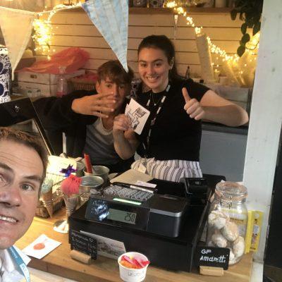 Ollie x 2 @the_beachhouse_cafe @ Pleasance Courtyard (16 August 2019)