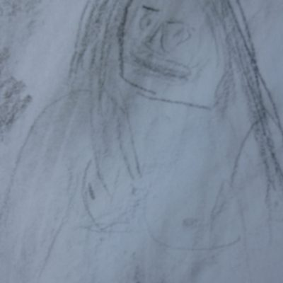 Drawing 5 - This is of a the naked lady