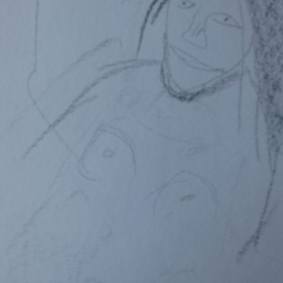 Drawing 3 - This is of the naked lady